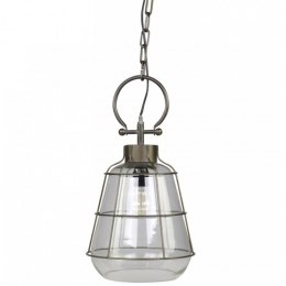 Szklana lampa industrialna Factory A Chic Antique